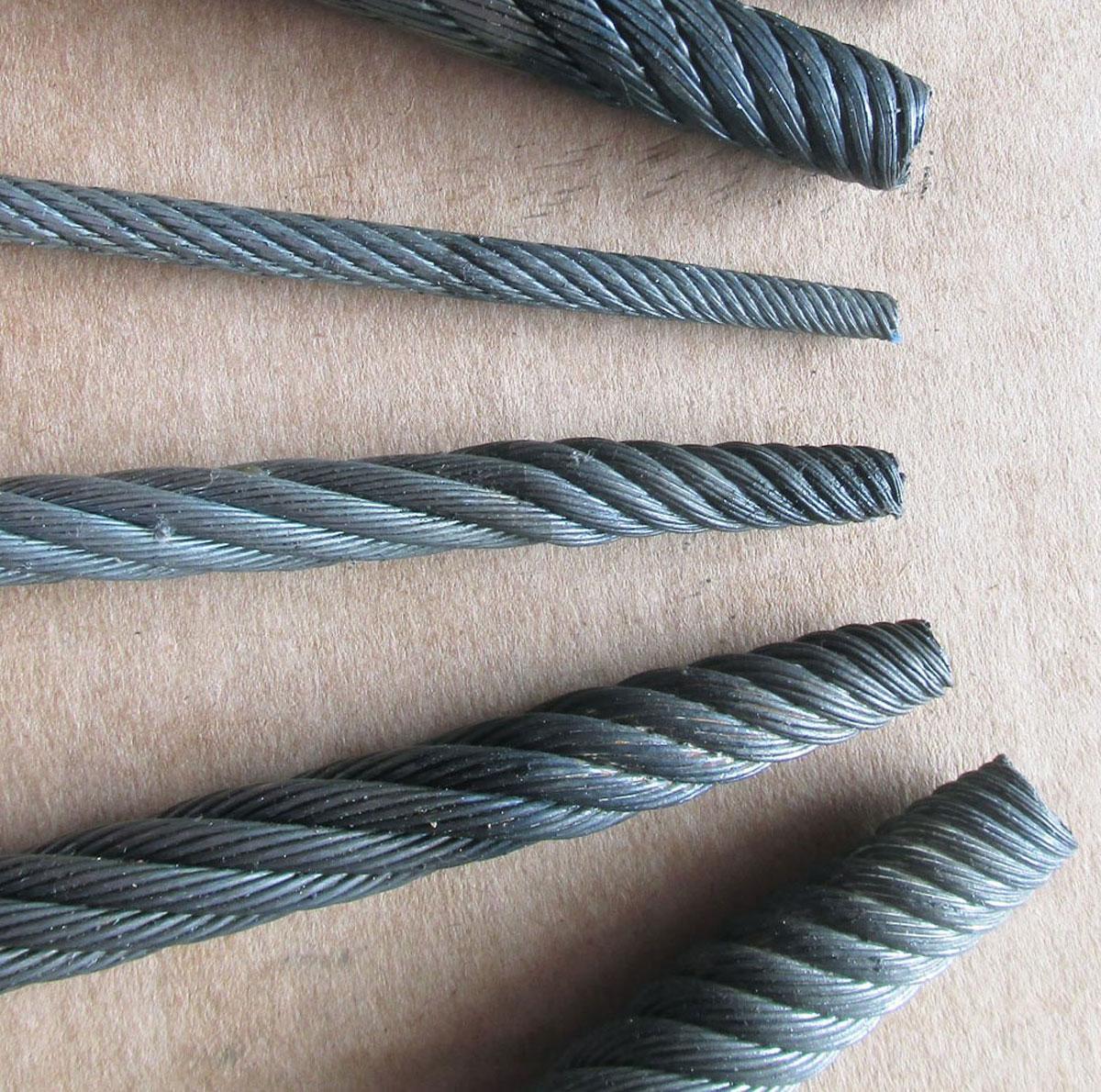 Специални ГОРСКИ въжета за ГВЛ и тракторни лебедки