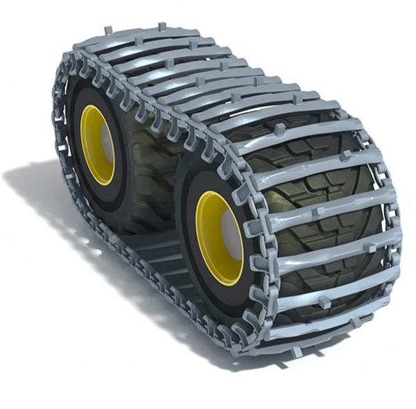 Нови тракови вериги OFA SISU за тежки горски трактори